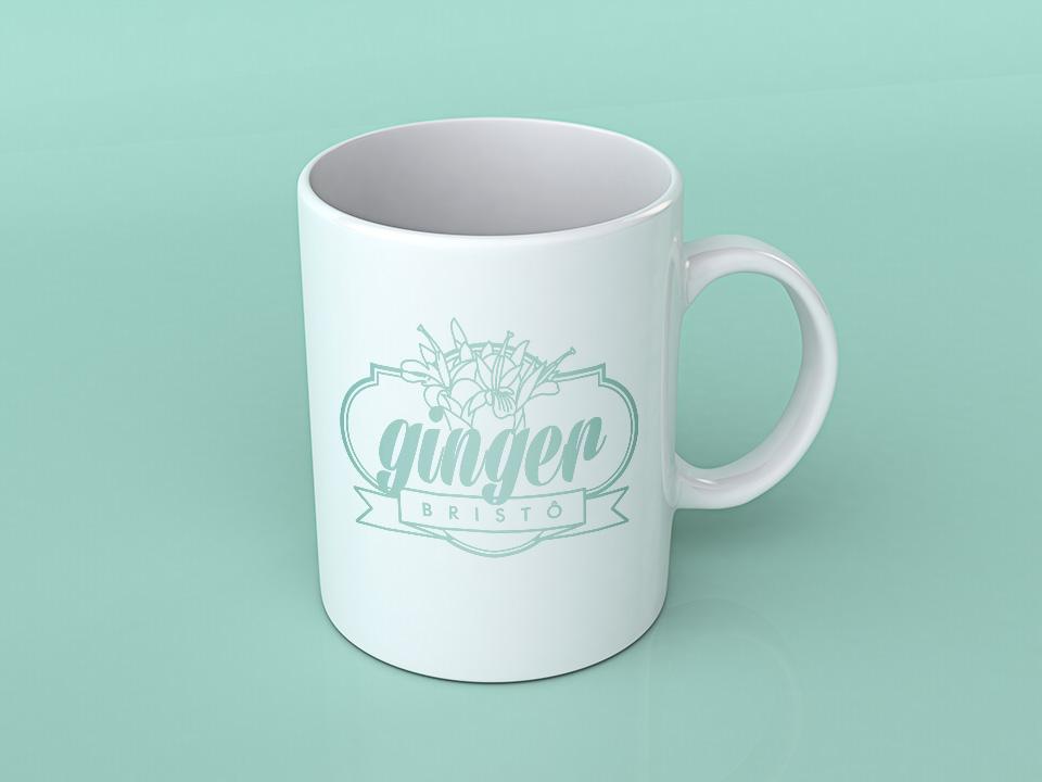 Ginger Bistrô, caneca