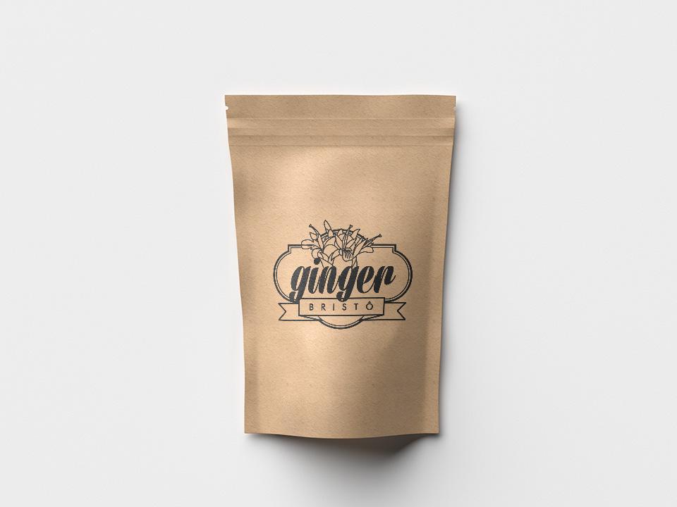Ginger Bistrô, embalagem