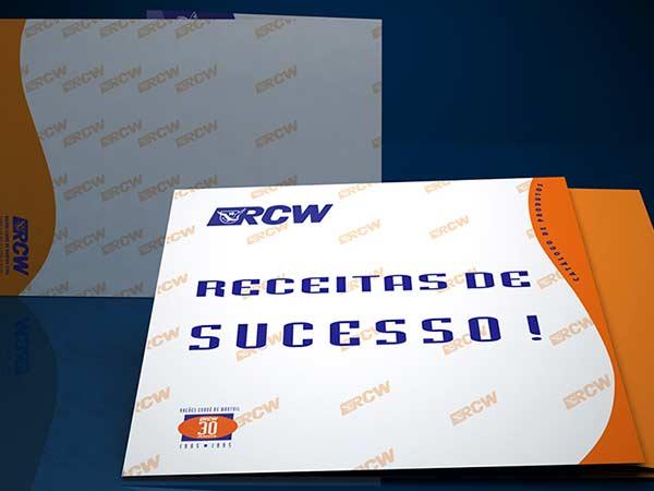 Broadside de produtos para peixes RCW