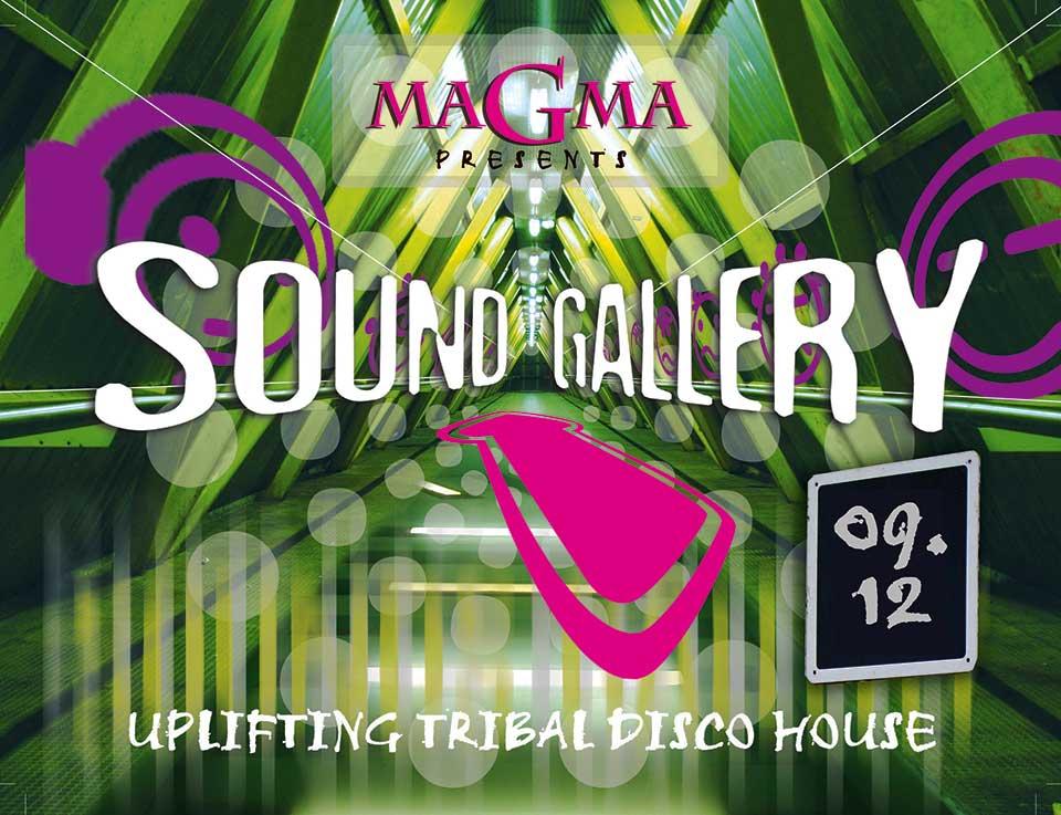 Festa Magma, edição Sound Gallery