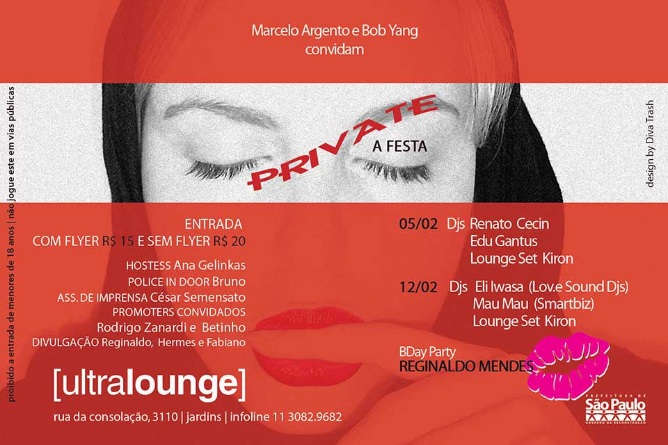 Festa Private by Ultralounge - verso