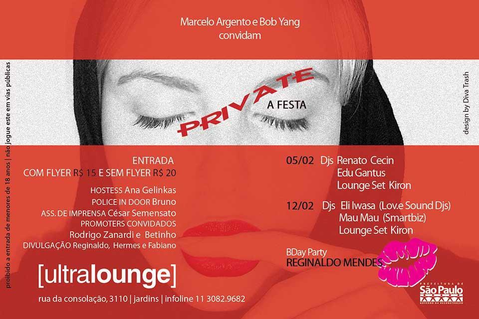 Festa Private by Ultralounge - verso