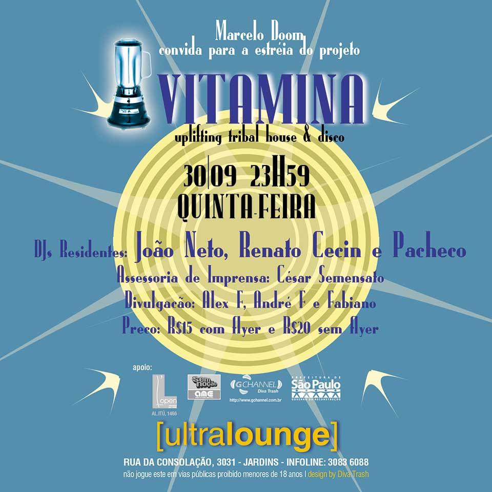 Festa Vitamina by Marcelo Doon at Ultralounge - verso