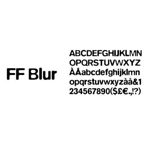 Fonte Blur