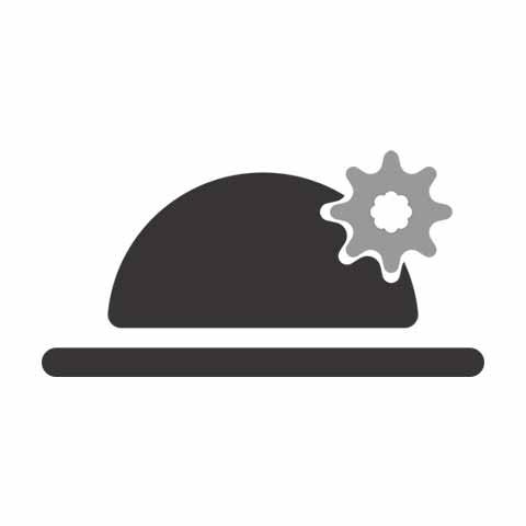Forma final do chapéu - com graça e gentileza